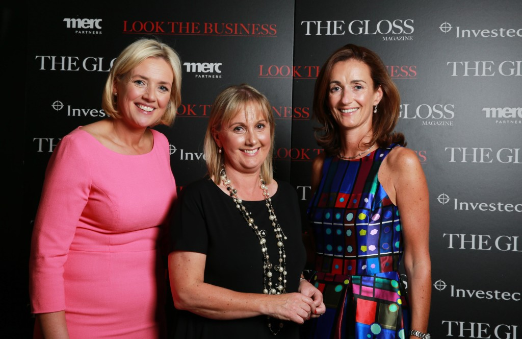 Ruth Curran, Merc Partners, Jane McDonnell, The Gloss Magazine, Aisling Dodgson, Investec