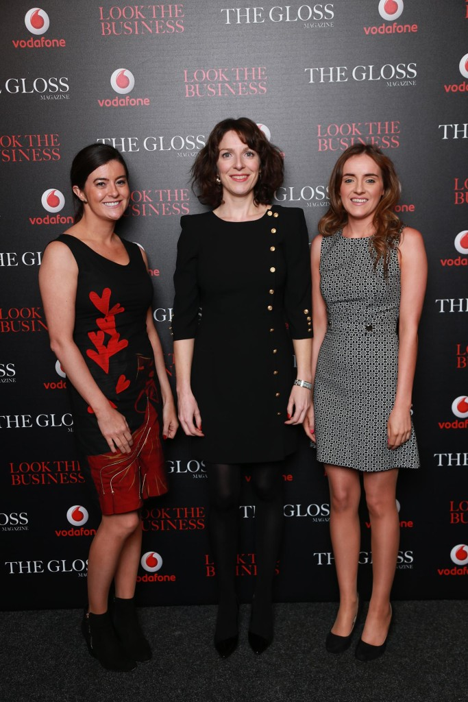 Louise O'Leary, Sarah Kelly and Noreen Farragher from The Panel