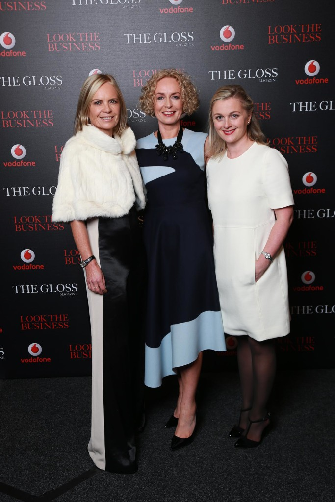 Mariella Frostrup, Anne O' Leary, CEO Vodafone and Sarah McDonnell