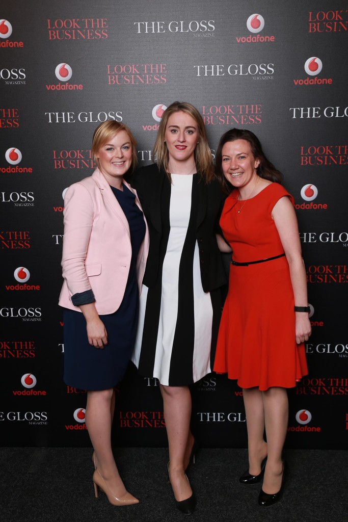 Susan Buggle, Deirdre Byrne and Ciara Devane from KPMG