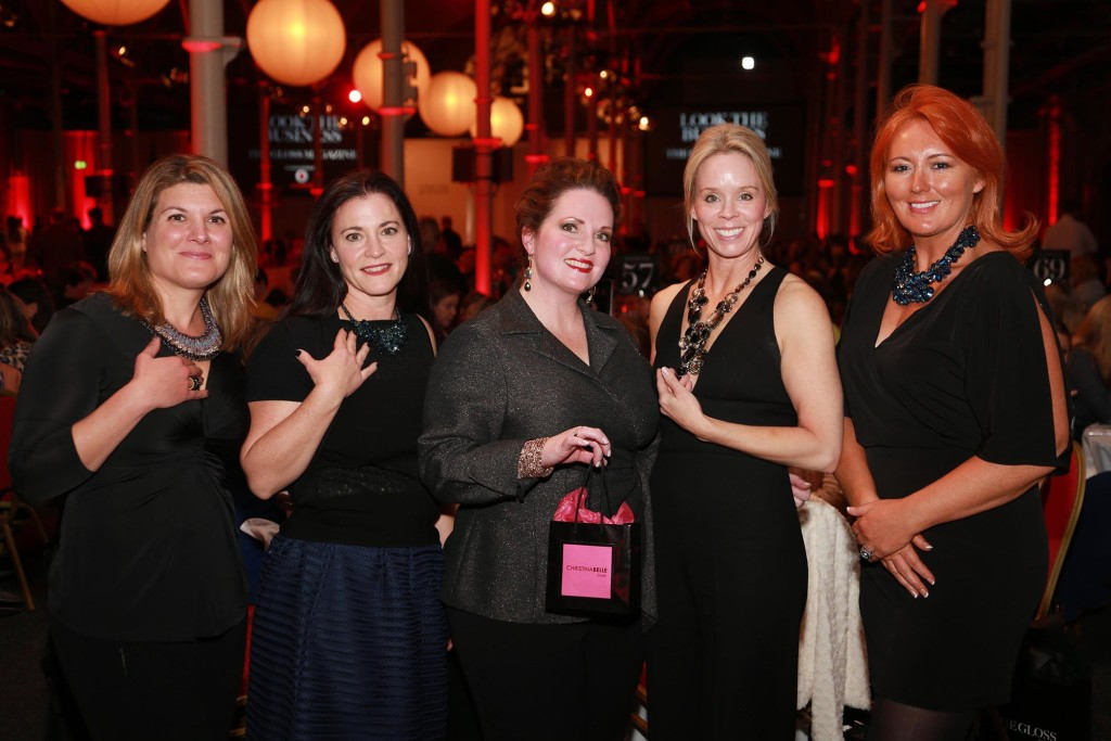 Sonja McGinn, Susan Rodgers, Christina Goldston, Michelle Harvin and Cynthia O'Mahony from ChristinaBelle Jewellery