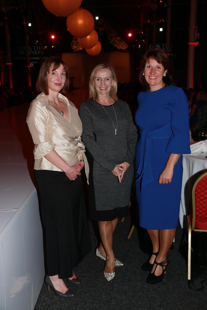 Sarah Helme from A.Menarini, Lorriane Bowen and Joanne Hession from The Ignite Academy