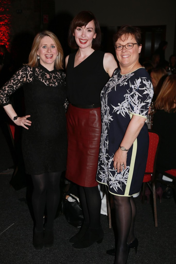 Mary Connolly, Emer Hogan and Paula Murphy from Vodafone