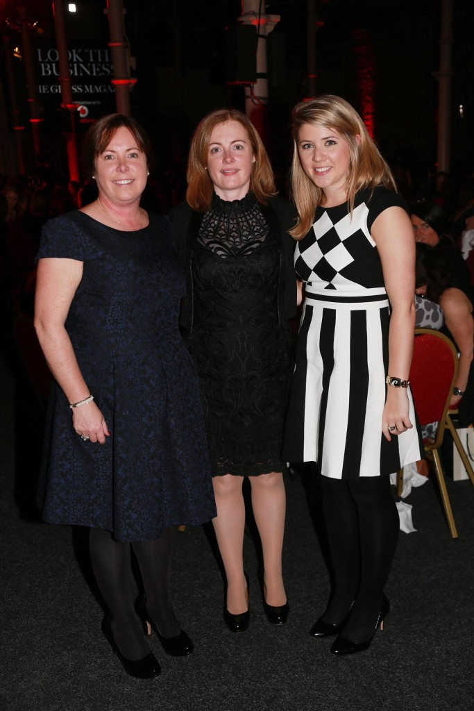 Anne O'Shea and Siobhan O'Shea from from Veolia and Aisling Maher from Brown Thomas