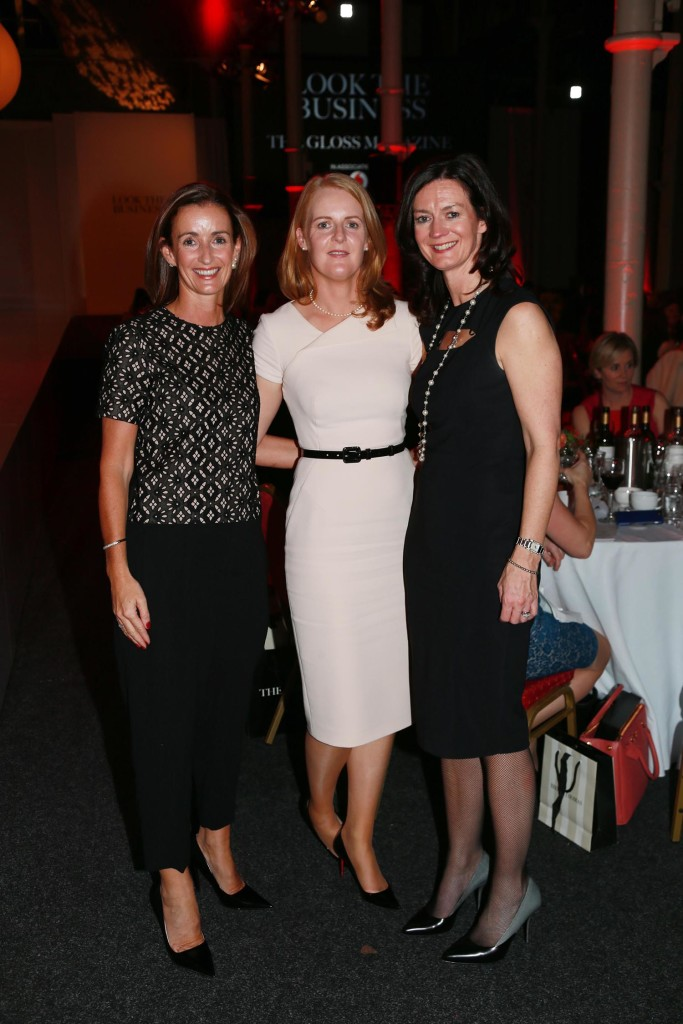 Aisling Dodgson, Catherine Dwyer and Delores Geaney from Investec