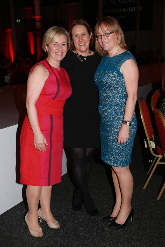 Cliodhna Ferris, Orna Gleeson and Fionnuala Keary from Investec