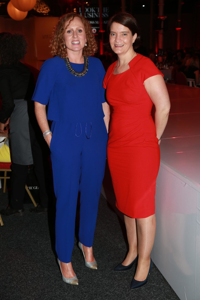 Caroline Henry from Vodafone and Orla Carroll from Failte Ireland