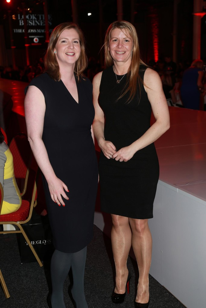 Niamh Townsend and Elaine Collins from Dell