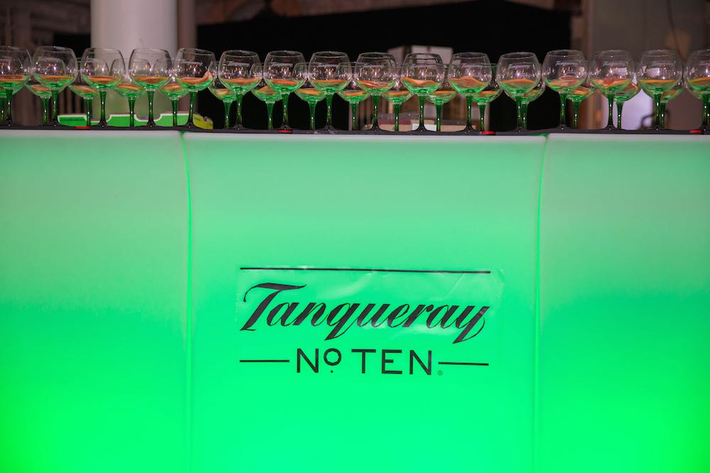 The specially-created The Perfect Ten cocktail made with Tanqueray No 10 gin, grapefruit and thyme