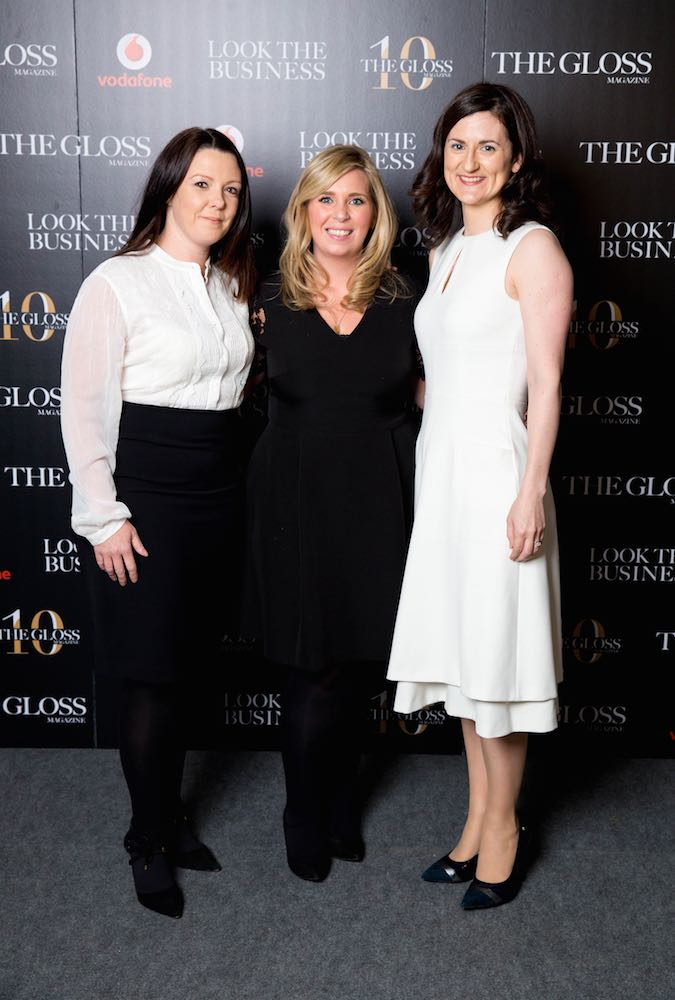 Joanna O'Dowd from Mercer, Eimear Kenny from Metlife and Anna Broderick from Eversheds