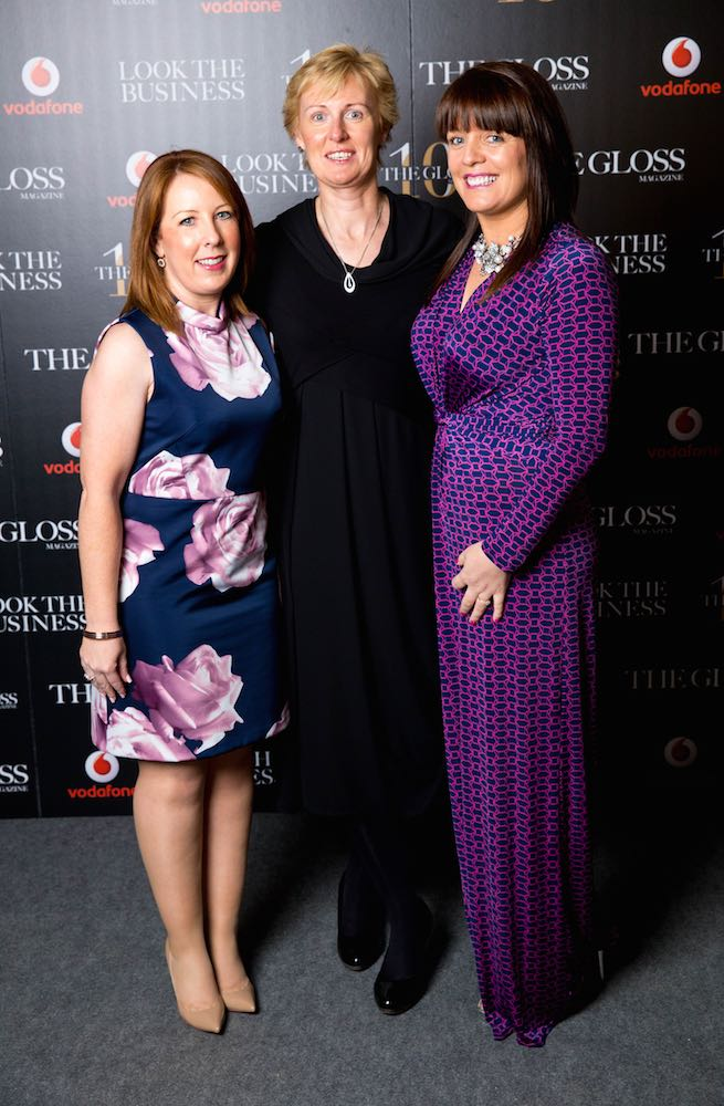 Lorraine Heffernan and Helen Brophy from Smurfit Executive Development and Linda O'Mahony from The Irish Farmers Journal