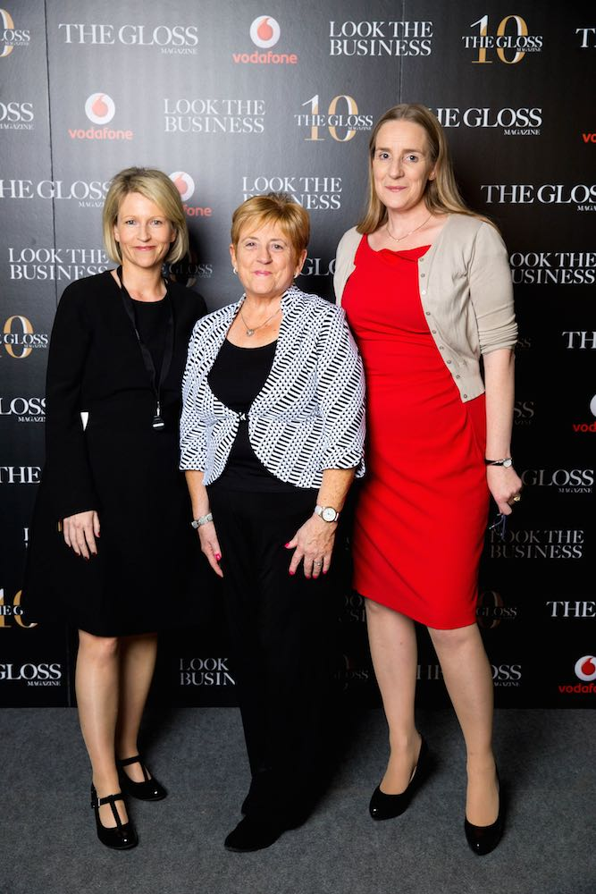 Jackie Buckley from Hayes Solicitors, Lorna McGrath from DHL and Mary Hough from Hayes Solicitors