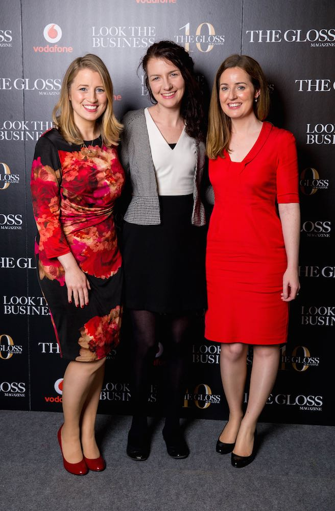 Kathleen Bohan, Karen Healy and Catherine Slowey from IDA