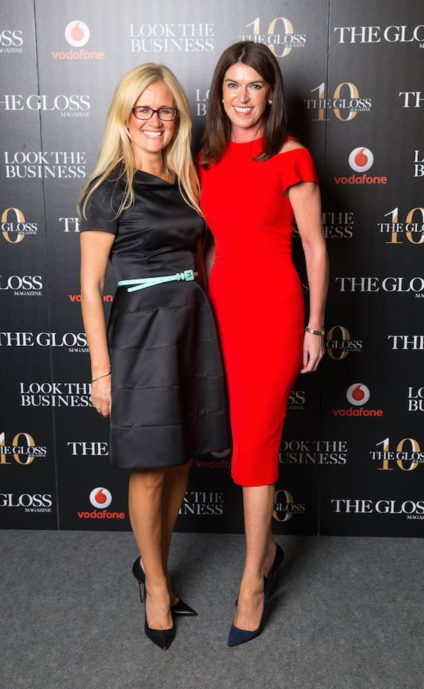 Paula McClean from Style Targets Breast Cancer and Julie Carroll from ECW