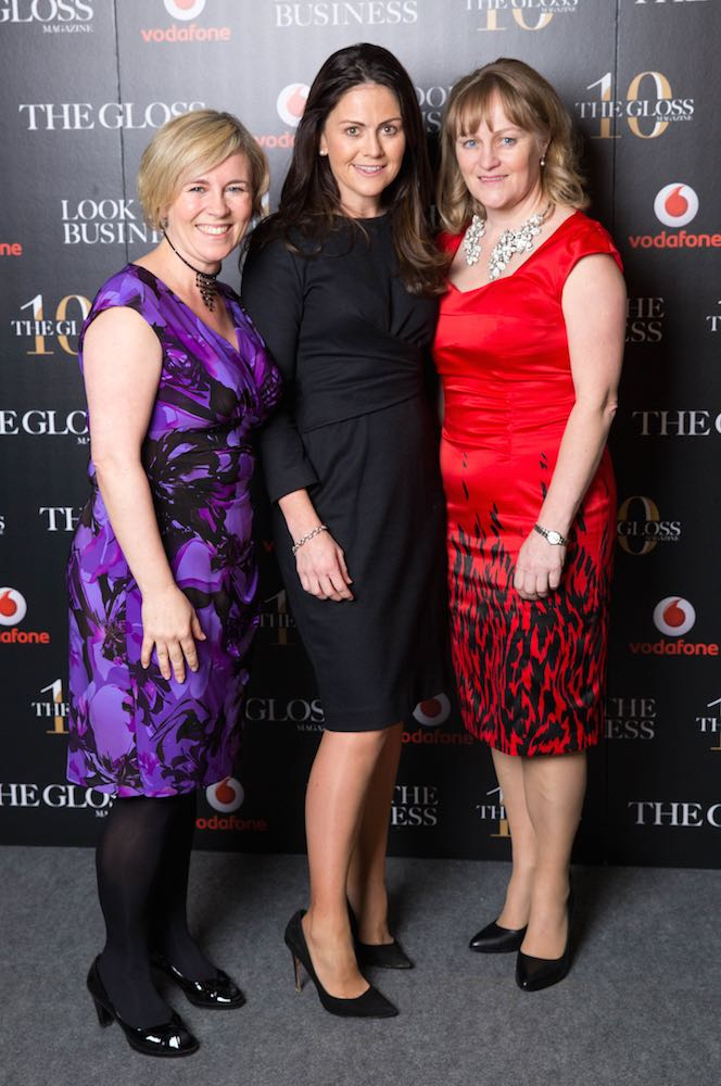 Cliodhna Ferris, Catherine Flavin and Fionnuala Keary from Investec