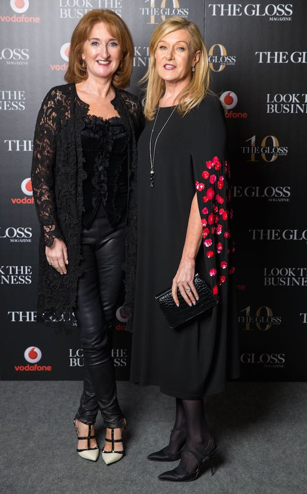 Lucy Gaffney from Communicorp and Louise Kennedy