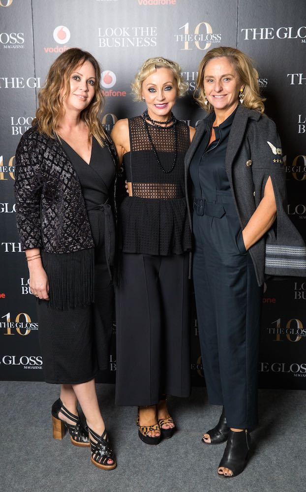 Tara Farrell from RTE, Ann Corcoran from Limetree and Debbie O'Donnell from TV3