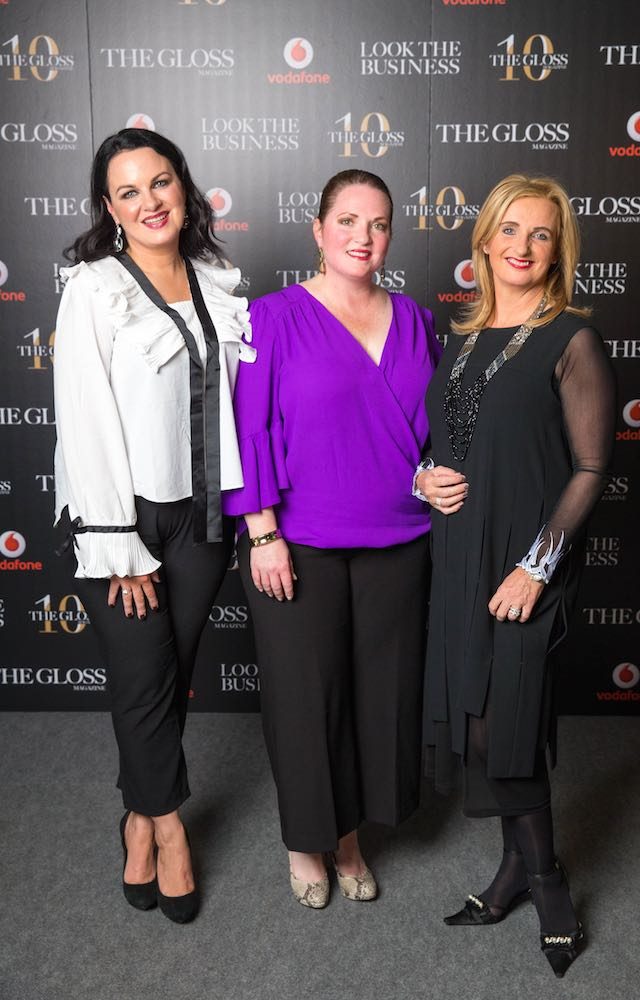 Triona McCarthy, Christina Goldston from ChristinaBelle and Sandra Walsh from Canopi