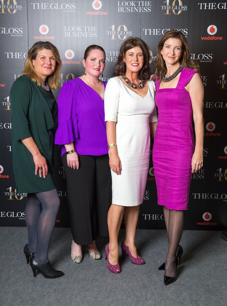 Cynthia O'Mahony, Christina Goldston from ChristinaBelle Jewellery, Carrie Richmond from Keane McDonald and Julie Locke from Vantage Partners