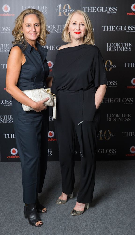 Debbie O'Donnell from TV3 and Bairbre Power