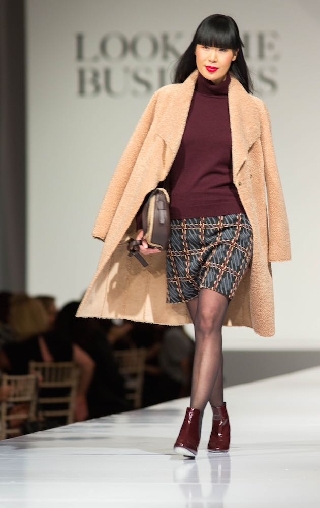 The Look The Business 2016 fashion show featuring Modern Classics from Marks & Spencer