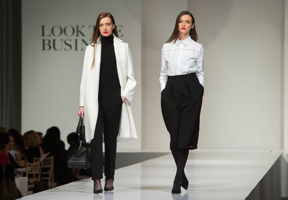 The Look The Business 2016 fashion show featuring Desk to Dinner dressing by Louise Kennedy