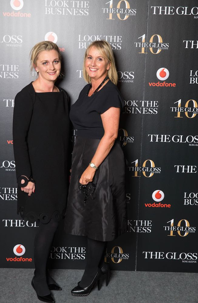 Sarah McDonnell, Editor, and Jane McDonnell, Publisher of THE GLOSS