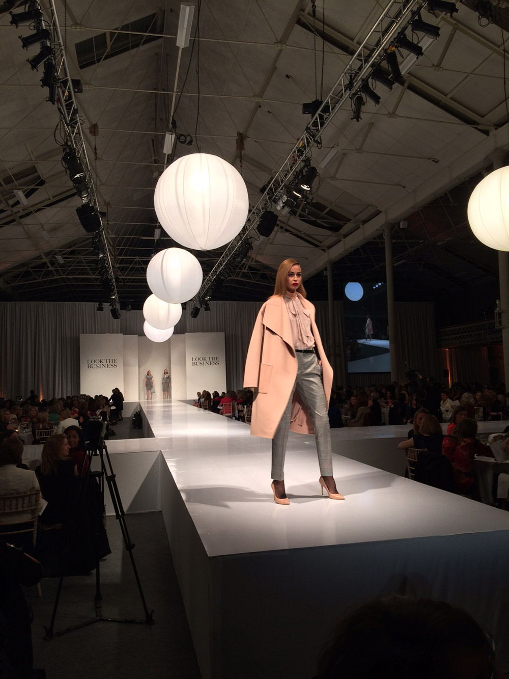 The Look The Business 2016 fashion show featuring Intelligent Dressing from L.K. Bennett