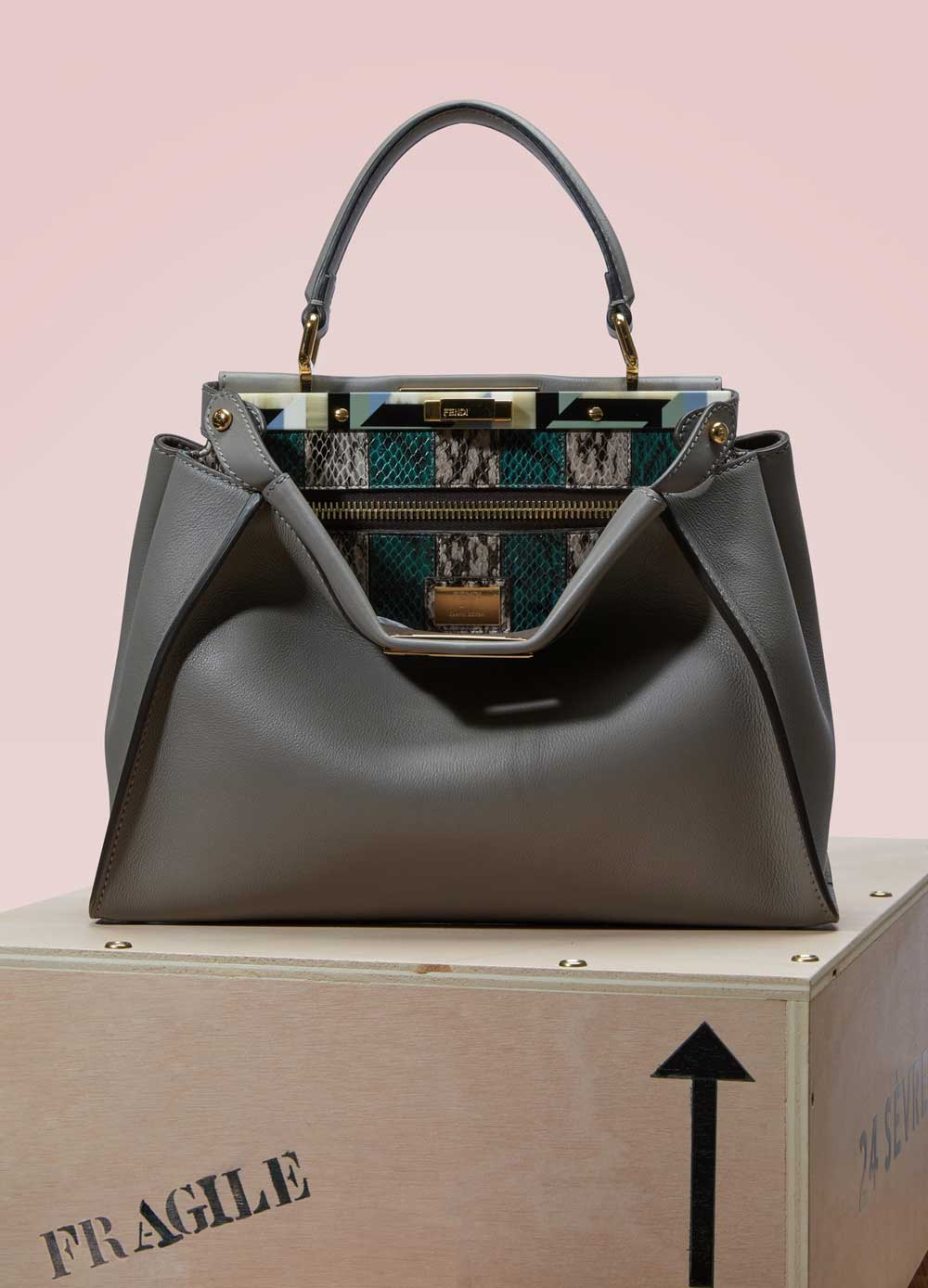 Fendi revisits the iconic Peekaboo exclusively for 24 Sèvres and Le Bon Marché.
