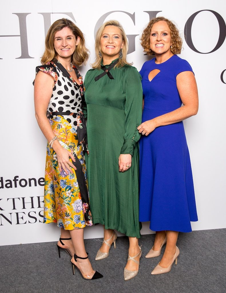 Clare Reynolds, Maura Doyle and Carolanne Henry, Vodafone