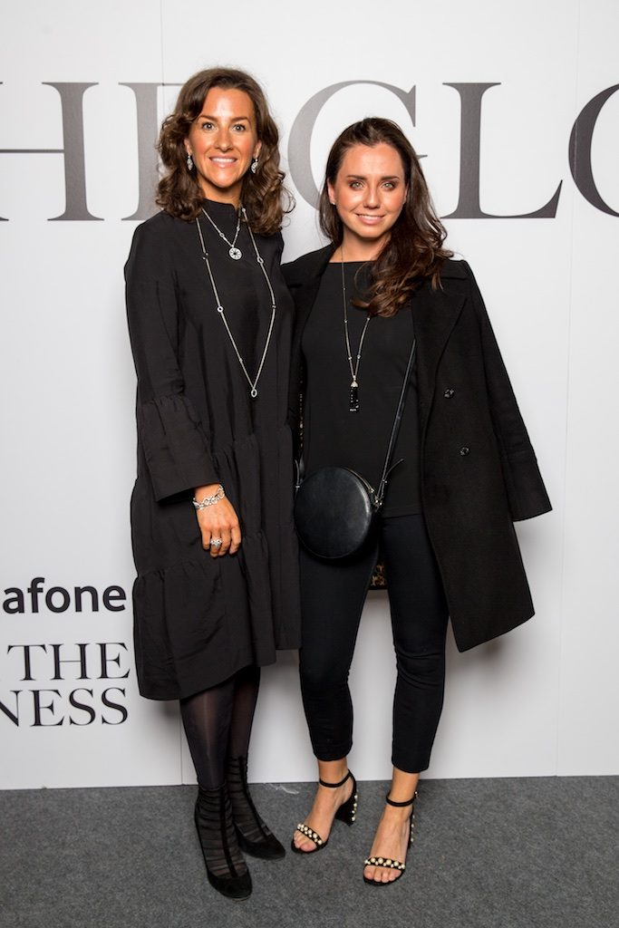 Suzie Golby, Boodles and Sarah Caughey from Louise Kennedy