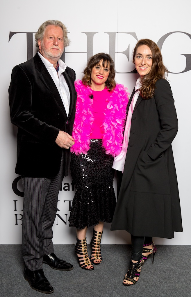 Michael Mortell, Patricia Martinez and Melanie McGowan, Dunnes Stores