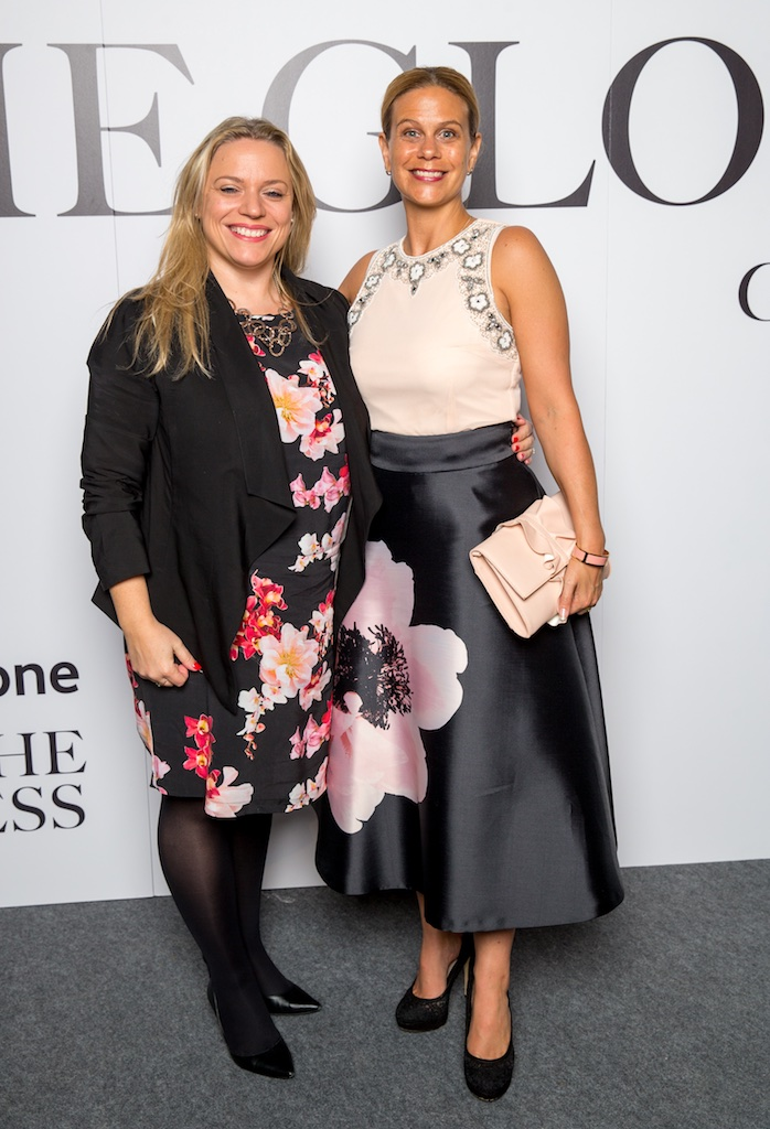 Katy McCarthy and Joanna Gilfoy, Vodafone