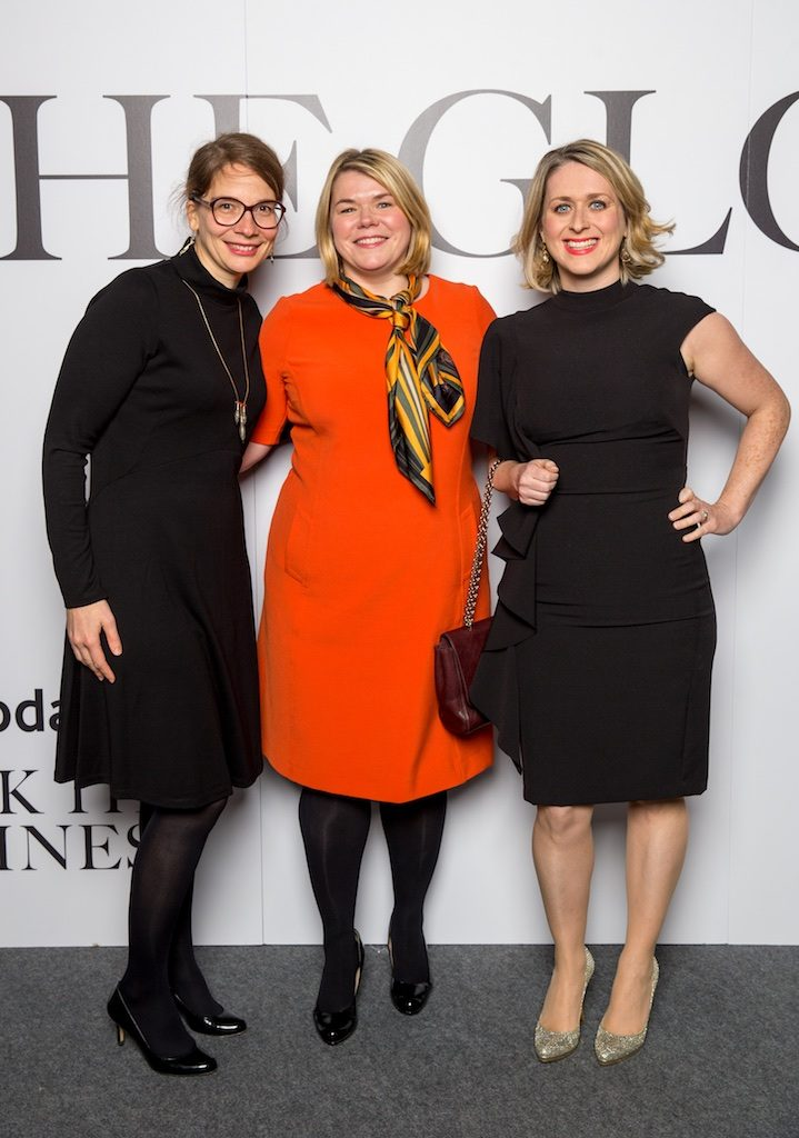 Karine Waksman, Claire Snodden and Mary Connolly, Vodafone