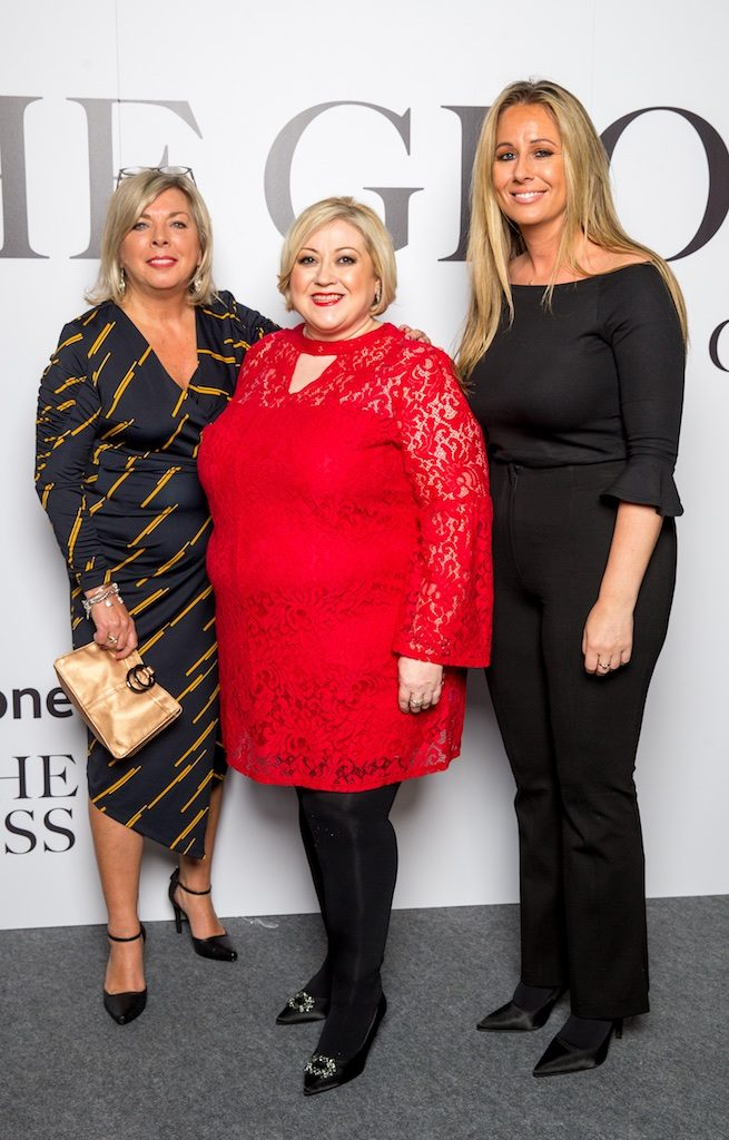 Eileen Armstrong, Carmel Breheny and Frances Deasy, M&S