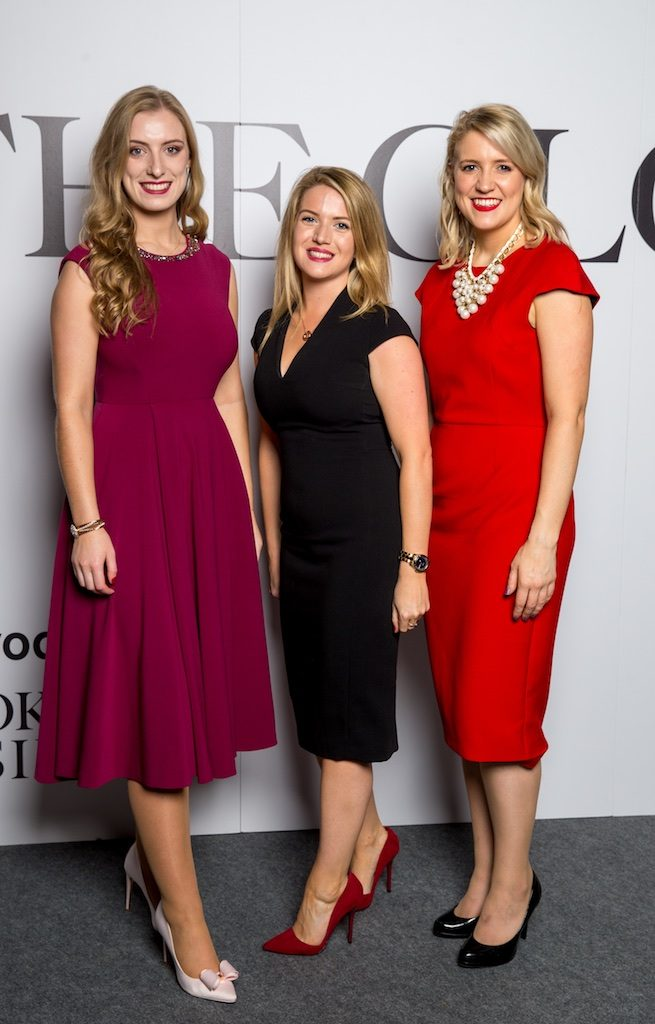 Avril Collins, Katy Walsh and Maria McEnery, Irelands Blue Book