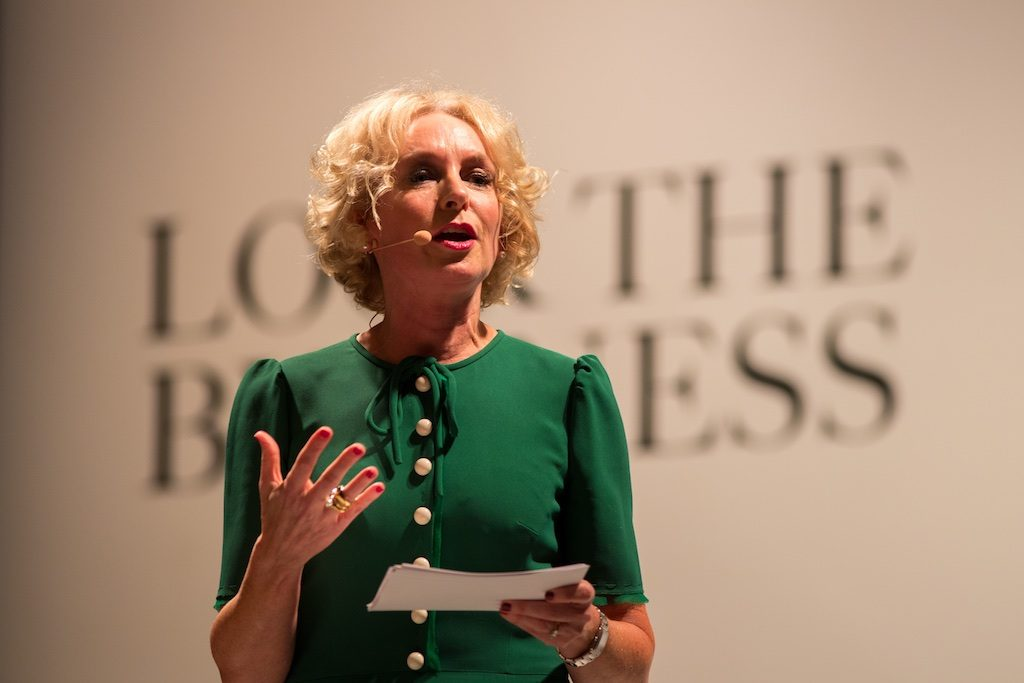 Anne O'Leary CEO of Vodafone
