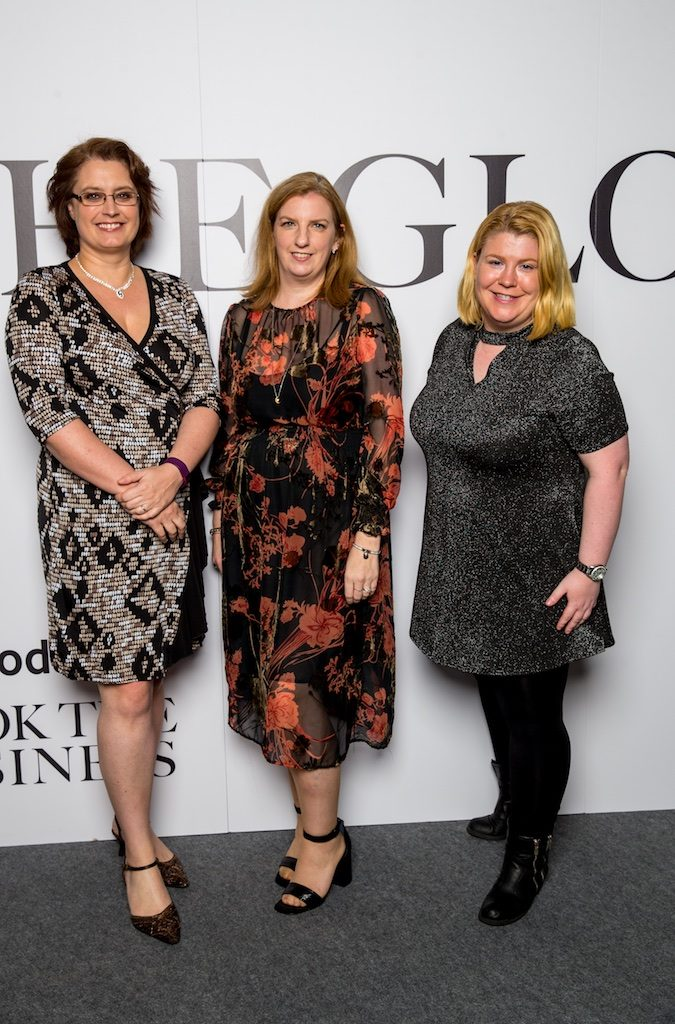 Tracy Crampton, Laura Geraghty and Audrey Wall, Chubb