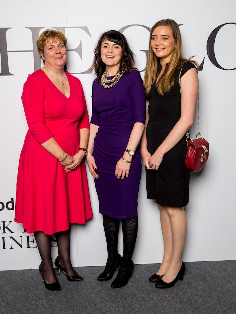 Ciara Whelan, PWC, Prof. Maura McAdam, DCU and Ciara Power, PWC