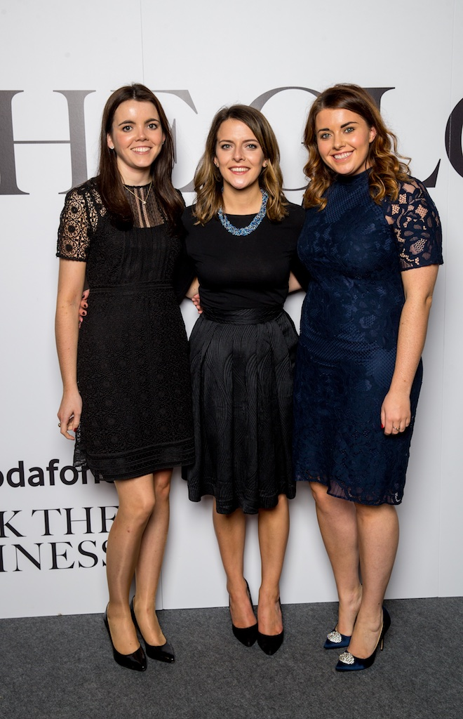 Eva Sheehy, Laoise Kennan and Sarah Fingelton, KPMG