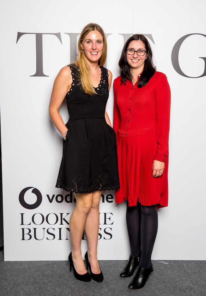 Rachel O'Connor, ColourTrend and Susan Roche, PWC