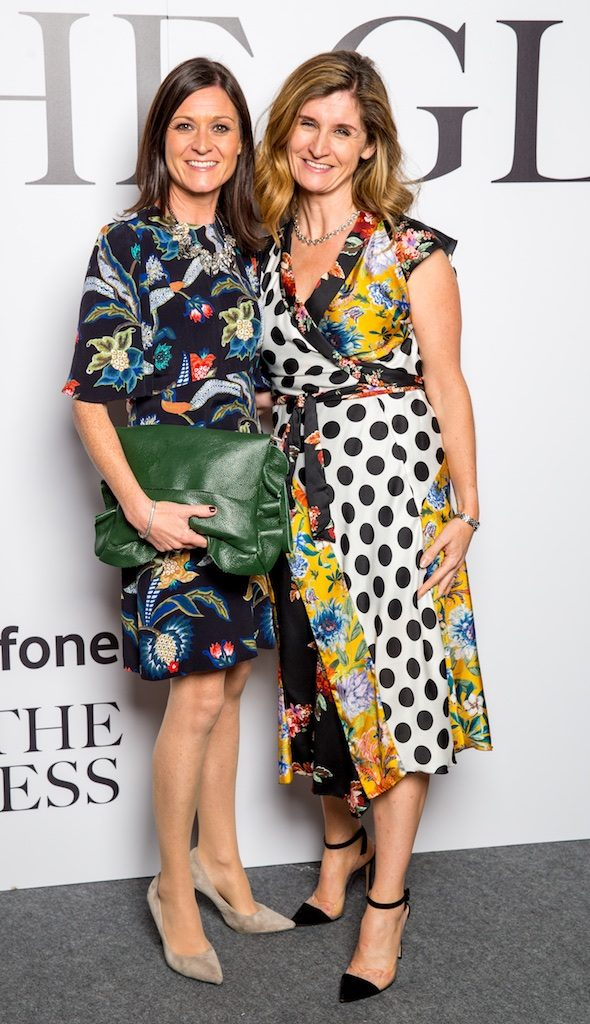 Zoe Langon and Claire Reynolds, Vodafone
