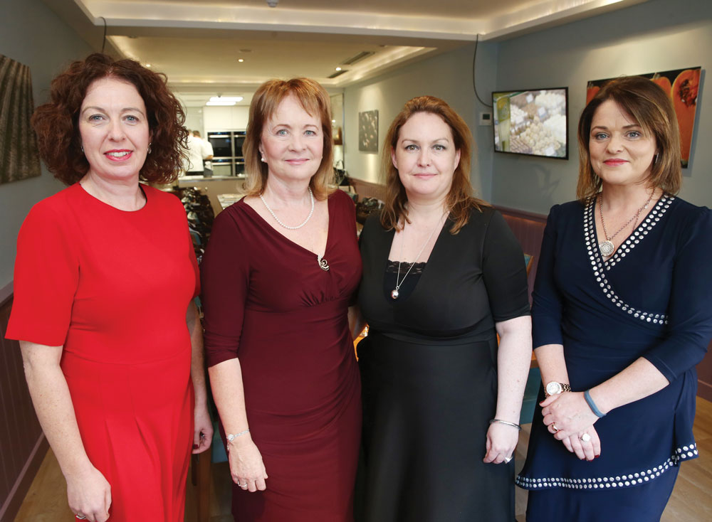 Máiréad Sorensen, second from left, with members of her board.