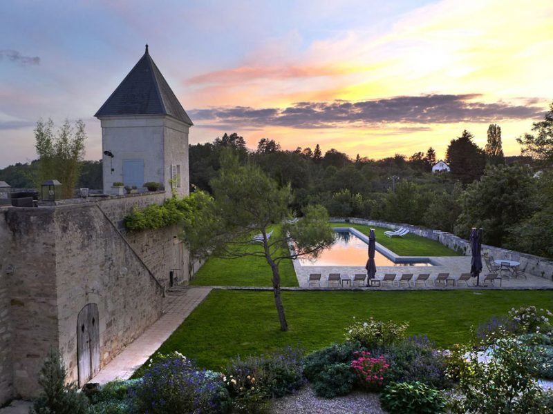 The impressive backdrop to one of The Strategic Space's transformational retreats in Burgundy, France