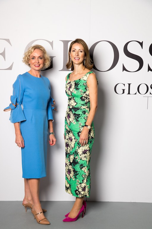Anne O'Leary, CEO of Vodafone Ireland and Dame Helena Morrissey, Founder of The 30% Club