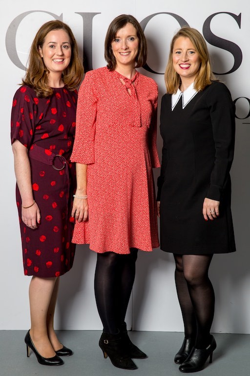 Catherine Slowey, Deborah Soye and Kathleen Bohan from IDA Ireland