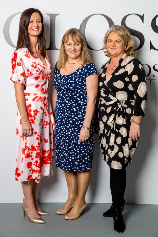 Dolores Geaney, Fionnuala Keary and Nancy Egan all from Investec