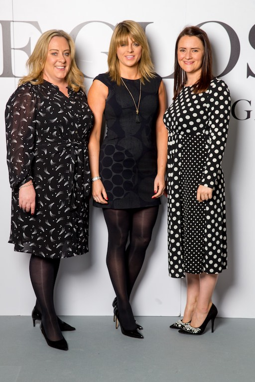 Urusla Lynam, Lisa Stout and Louise Savage all from Investec