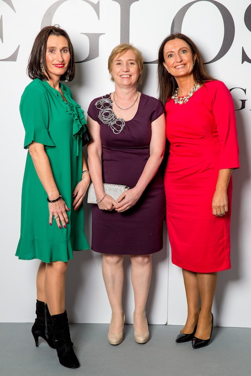 Debbie Power, Regina Moran and Sheila McMahon, all from Vodafone