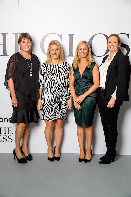 Nuala McGrath, AIB and Sylvia O'Mahony, AIB, Lisa Curtin, EY and Karen O'Mahony, AIB